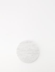 Round White Moonstone Marble