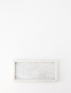 Tray White Moonstone Marble