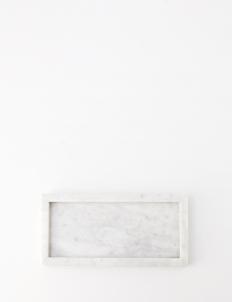 Tray White Moonstone Marble