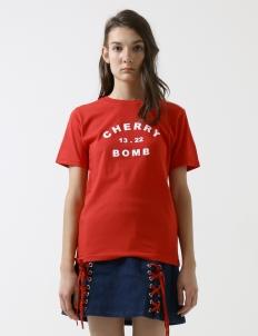 Red Cherry Bomb T-shirt