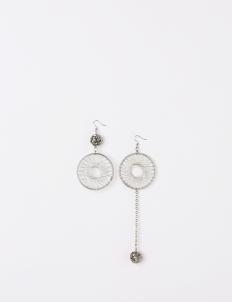 Silver Amorina Earrings
