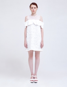 White Waverley Dress