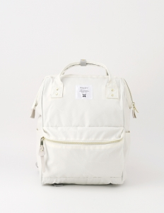 White Oxford Backpack
