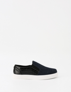 Denim Navy Joan Slip On Sneakers