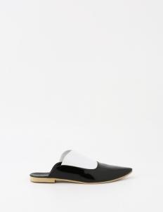 Black & White Tom Sandals