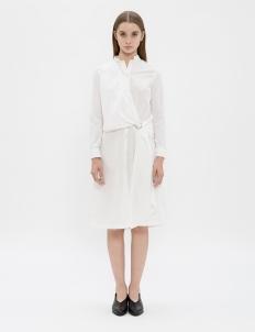 White Heather Shirt Dress