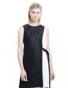 Black & White Louise Dress