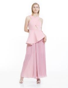 Dusti Pink Celemence Jumpsuit