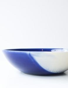 Mix White Blue Bowl