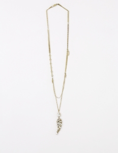 Gold Daily Glamrock Necklace