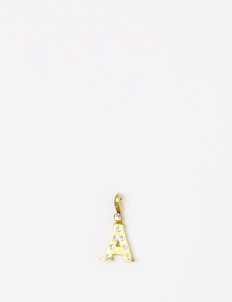 Gold A Pendant
