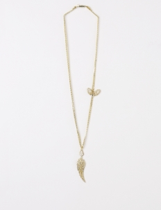 Gold Daily Glamrock Butterfly Necklace