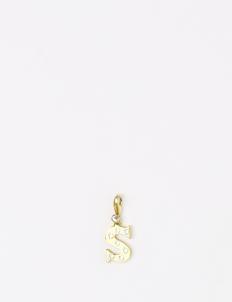 Gold S Pendant