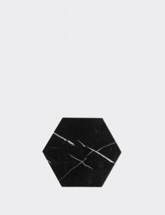 Hexagonal Marble Trivet