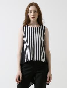 Stripes Black Kiara Top