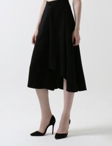 Black Fresia Skirt-Pants