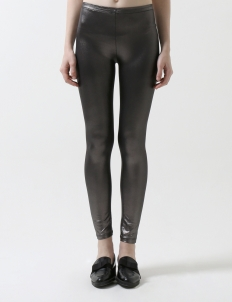 Silver Tight Pants