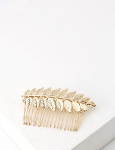 Chartreuse Hair Comb