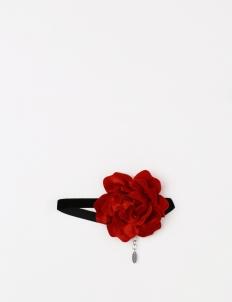Black & Red Rosie Choker