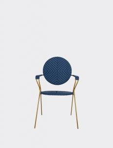 Blue Borneo Bistro Chair