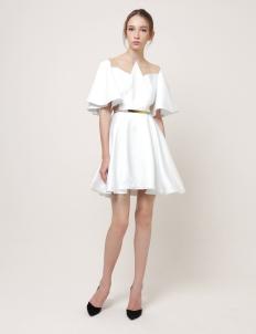 Argon Sleeved A-Line Dress