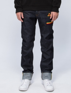 Multi Color Inseam Jeans