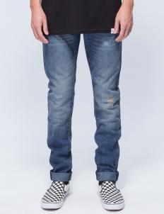 Medium Wash Sk8 Life Skinny Fit Denim Jeans