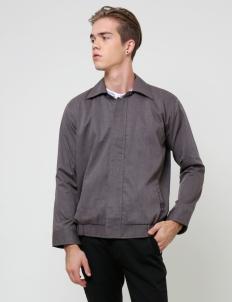Men Misty Gray New Casual Jacket