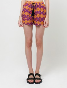 Multicolor Sasha Shorts