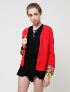 Red Marigold Gypsy Blazer