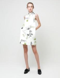 Forest Desert Botany–Print Jamie Dress