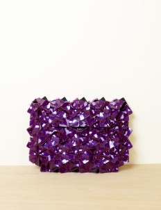 Deep Violet Warrior Clutch