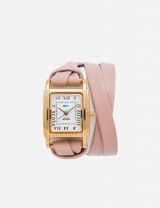 Blush Gold Milwood Double Strap Watch