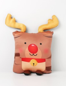 Rudolph the Red Nose Reindeer Pillow