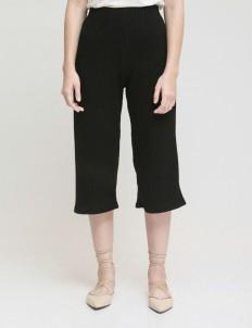 Black Bryn Knit Culottes