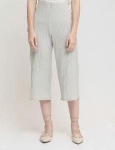 Gray Bryn Knit Culottes