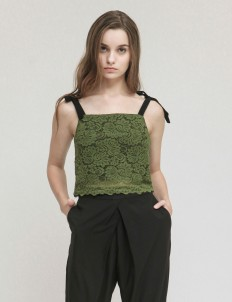 Olive Bow Tank