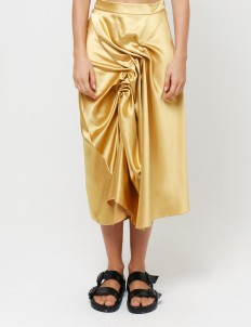 Gold Clay Skirt