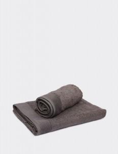 Neutral Gray  Belgium Hand Towel
