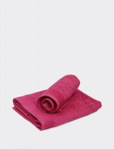 Carmine Rose  Belgium Hand Towel