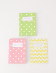 Planner Pastel Notebook Series 1