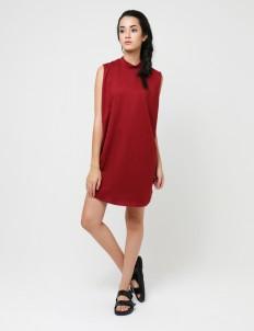 Maroon Vanya Dress