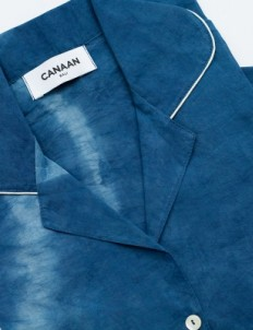 Indigo Pyjama Set