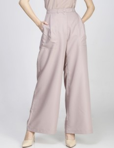 Dusty Pink Tertia Trousers