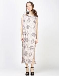 Brown Pratistha Dress