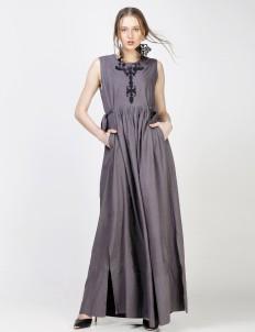 Gray Rananta Dress