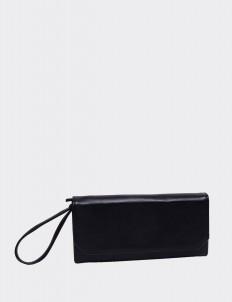 Jet Black Travel Wallet