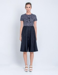 Black Hexagon Jumpsuit