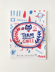 Blue & Red Team Chill Patch