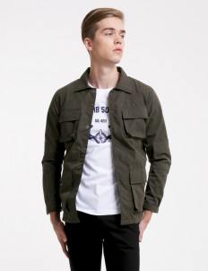 Olive No Rest Patches Jacket